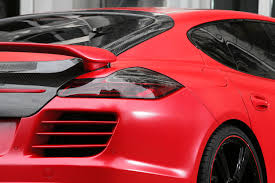 Porsche Panamera Red - anderson germany porsche panamera red picture 59458