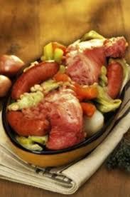 cuisiner palette demi sel idées recette la potée auvergnate