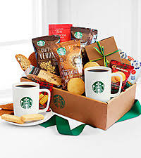 coffee gift baskets starbucks delivery gifts coffee gift baskets from ftd
