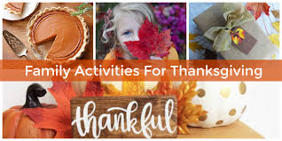gratitude inspired thanksgiving activities for families