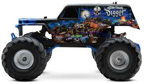 power wheels grave digger monster truck traxxas son uva digger rc truck stop