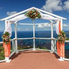 Wedding Trellis Flowers Wedding Arches U0026 Aisles St Thomas Weddings Flawless Weddings