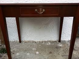 Kleiner Schreibtisch Kleiner Mahagoni Schreibtisch Englischer Schreibtisch Antik