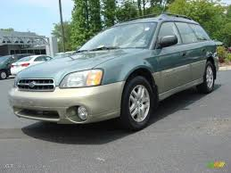 subaru station wagon 2000 2000 wintergreen metallic subaru outback wagon 49418225