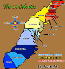 Map Of New England Colonies by The Colony Of Virginia Was The First English Colony In Th