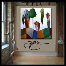Original Home Decor Original Abstract Modern Home Decor Wall Art Huge Canvas Painting