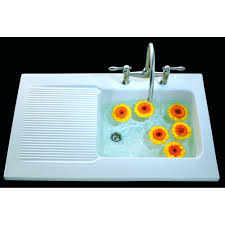 Villeroy  Boch Provence Single Bowl And Drainer Mm X Mm - Ceramic kitchen sinks uk