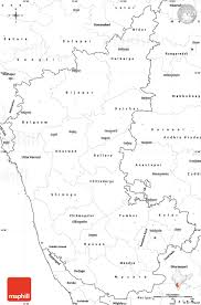 State Map Blank by Blank Simple Map Of Karnataka