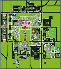 Asu Campus Map Uafs Map Image Gallery Hcpr