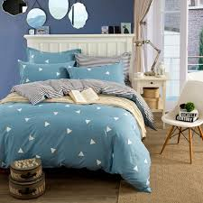 triangle bedding white triangle pattern fashion cotton bedding sets twin queen