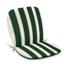 cuscini per sedie da giardino cuscino imbottito per sedia in tessuto rigato colore verde retro