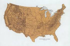 Outline Map Of The United States by William Cronon 469 Handout 3 Introduction To North America