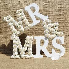 mr and mrs sign for wedding wedding collection on ebay