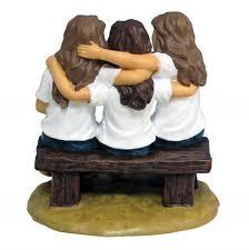 friendship family gift ideas forever in blue figurine