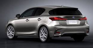 lexus ct200h sport 2018 lexus ct 200h revealed with new styling tech