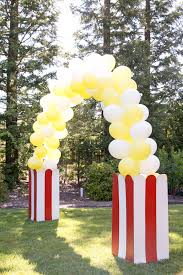 Balloon Arch Decoration Kit Diy Balloon Arch By Evite Popcorn Stand For Diy Popcorn Bar For