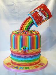 best 25 skittles cake ideas on pinterest rainbow cakes pinata