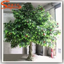 factory wholesale artificial fruit trees artificial apple tree for