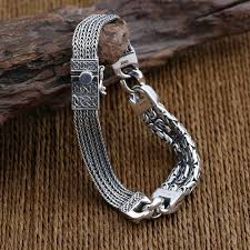 mens silver byzantine necklace images Men 39 s sterling silver byzantine and wheat chain bracelet jpg