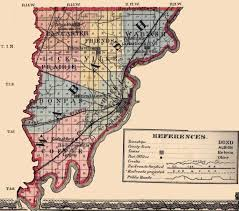 Illinois Map by Wabash County Illinois Maps And Gazetteers