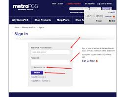 metro pcs help desk number how to recover lost password or pin of your metropcs account