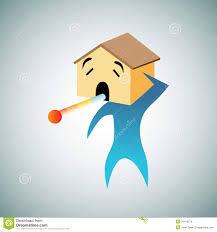 a homesick person stock vector image 54410576