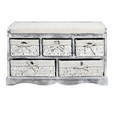 cassetti per cucina mobili panca seduta panchina shabby per corridoio cucina