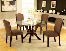 Glass Dining Table And 6 Chairs Sale Bedroom Licious Round Contemporary Dining Table Set Circle Black