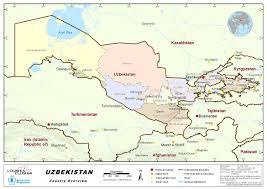 Aral Sea Map 1 Uzbekistan Country Profile Logistics Capacity Assessment