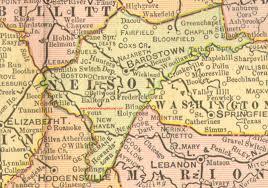 kentucky map bardstown nelson county kentucky 1905 map bardstown ky