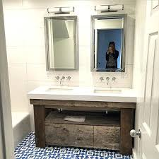 Reclaimed Wood Bathroom Mirror Vanities Reclaimed Wood Bathroom Mirror Reclaimed Wood Bathroom