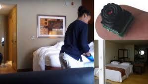 détecter une éra cachée dans une chambre d hôtel