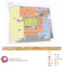 Sony Centre Floor Plan Amanora Town Centre Hadapsar Shopping Malls In Pune