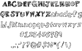 bistrosketch font by 21stbistro fontspace