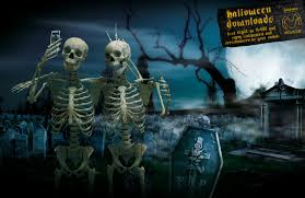 halloween background for imvu free skeleton wallpapers group 50