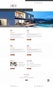 Free Real Estate Web Templates by Free Html5 Theme Architecture