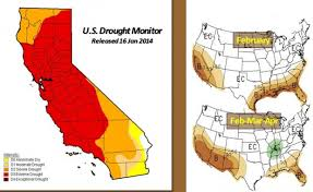 california map drought california jerry brown drought emergency declared