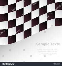 Maroon And White Flag Racing Background Checkered Flag Vector Illustration Stock Vector