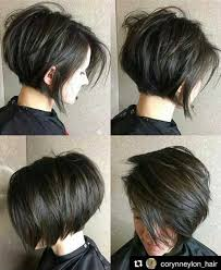 short brunette hairstyles front and back charming short brunette hairstyles short hairstyles 2017 2018