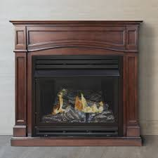 fireplace convert gas fireplace back to wood within pleasant