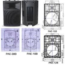 empty plastic speaker cabinets 8 10 12 15 empty plastic speaker boxes cabinet china 8 10