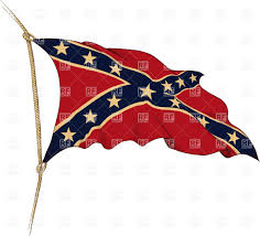 Confederate States Flags Old Flag Of The Confederate States Of America On Wind Royalty Free