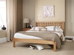 5ft Bed Frame Thornton American White Oak Kingsize 5ft Bed Frame Bedroom Ideas