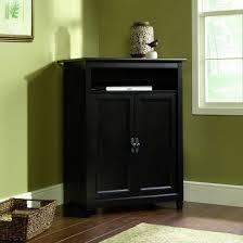 Sauder Edge Water Desk With Hutch by Sauder Center Medium Size Of Tv Essentials Black Storage Center