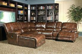 brown collection top grain leather sectional sofa collection in top grain leather
