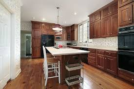 Kitchen Cabinets And Flooring Combinations Attractive Kitchen Cabinet And Hardwood Floor Combinations