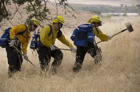 California Wildfire Rocky Fire by National Guard Soldiers And Airmen Helping Douse Wildfires In
