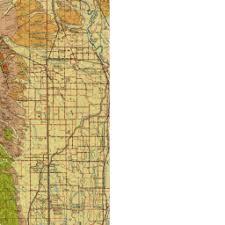 map ukiah california geological survey geologic atlas of california
