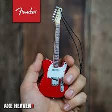 ornaments 6 quot axe heaven store mini guitar
