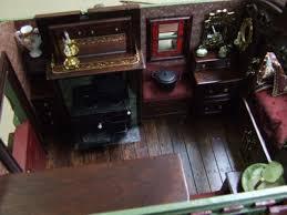 Vardo Interior Gypsy Caravans Miniature Designs Full Service Dollhouse